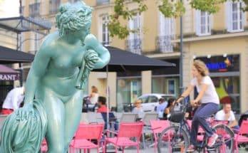 Une sculpture en plein coeur de Rennes