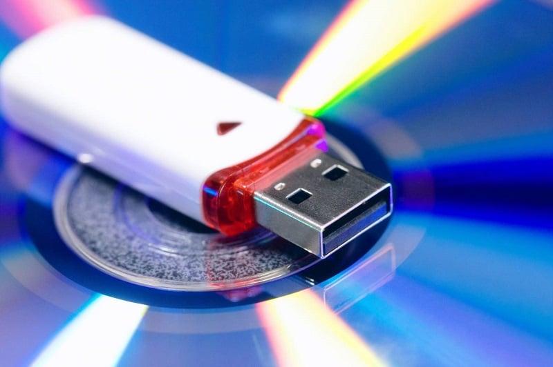 Comment transférer un cd sur une clé USB
