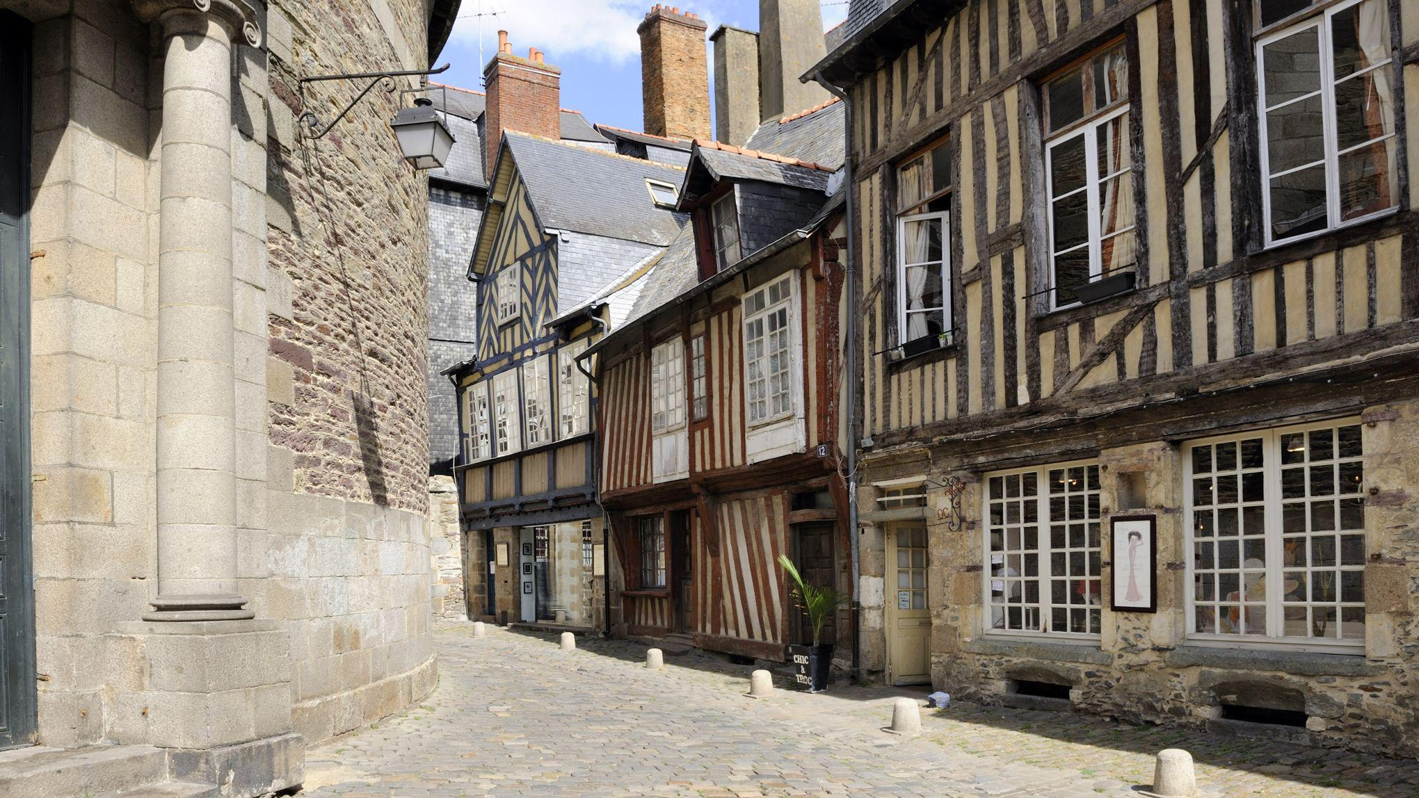 Ruelle historique de Rennes