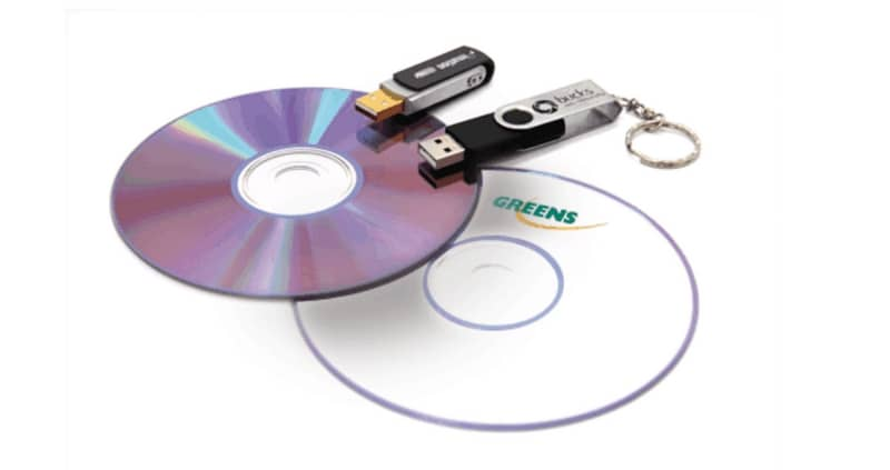 cd vers USB